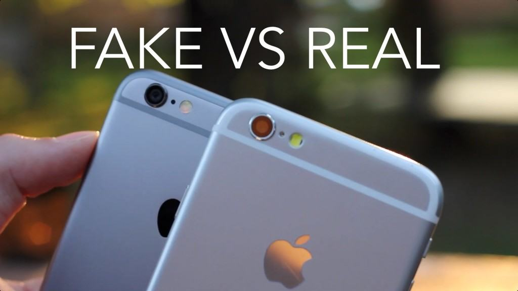how to spot a fake iphone 6