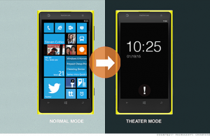 "Microsoft patents new ""theater mode"" for smartphones"
