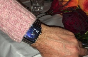 Apple Watch can now be seen on the streets of Cupertino