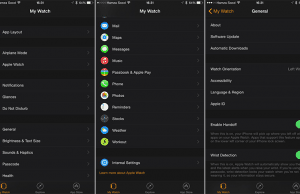 Screenshots from iOS 8.2 Show New Watch Companion App from Apple