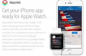 Apple Watch apps can now be submitted
