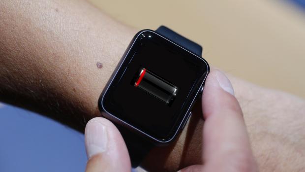 Apple-Watch-battery-empty