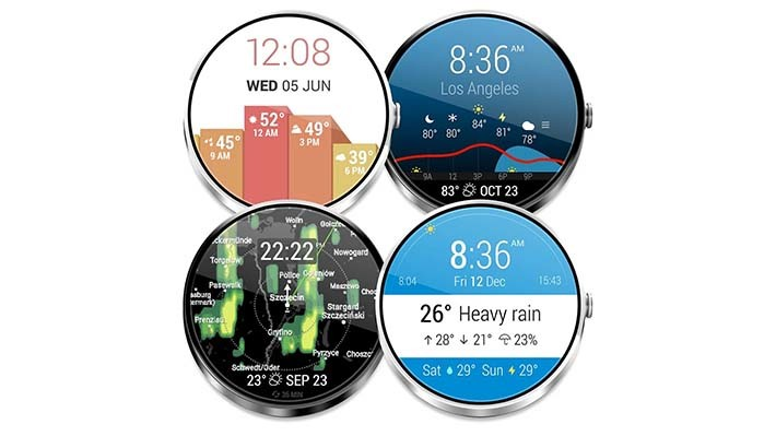 InstaWeather android wear