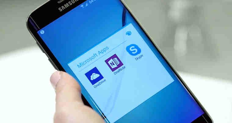 samsung galaxy s6 microsoft apps