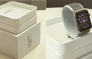Exclusive look at the Apple Watch packaging