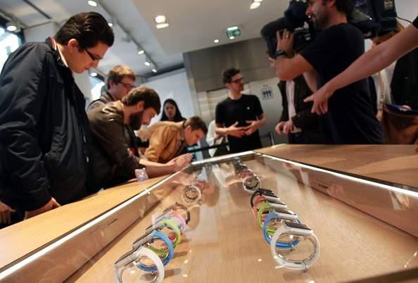 apple watch sales