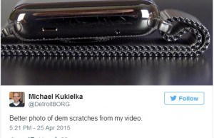 The stainless steel Apple Watch, a victim of #Scratchgate