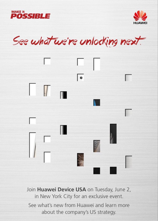 Huawei invite June 2