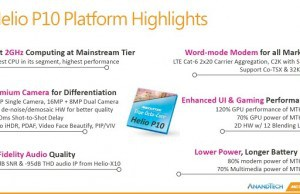 The new octa-core MediaTek Helio P10 chip, unveiled!