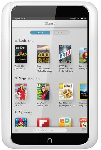 Barnes Nobles Nook HD