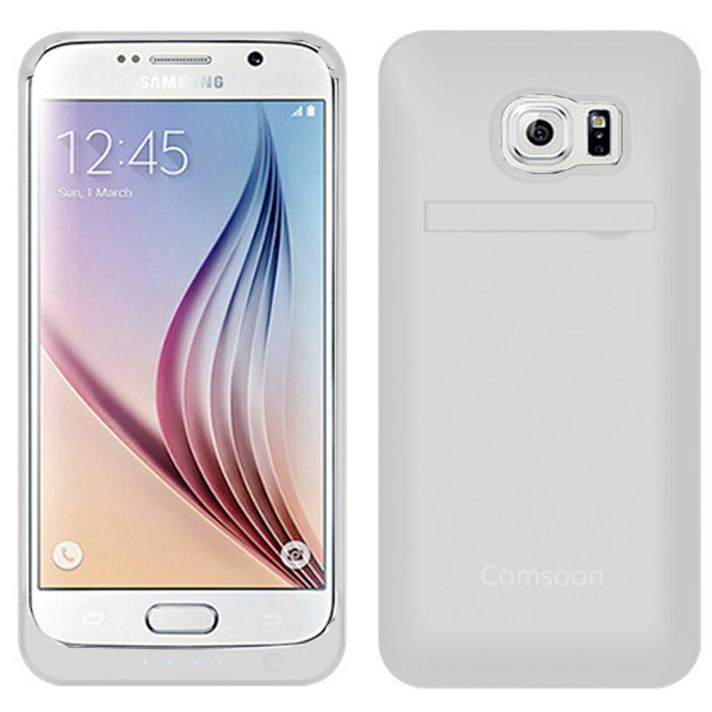 Comsoon 4000 mAh Ultra Slim Samsung Galaxy S6 Battery Case