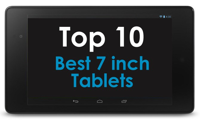 What are the best 7 inch tablets