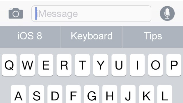 best ios 8 keyboard tips