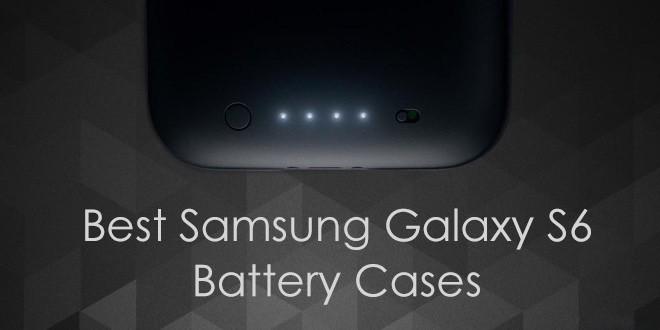 best samsung galaxy s6 battery cases