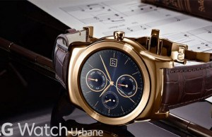 Meet the new 23-Karat Gold LG smartwatch!