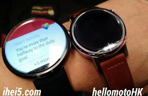 New image with the new Moto 360 confirms that it will come in two sizes