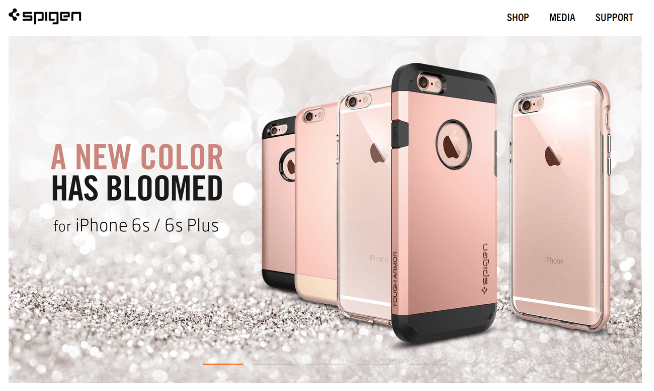 spigen rose gold iphone cases
