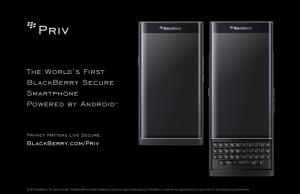 The new BlackBerry Priv is now available for pre-ordering