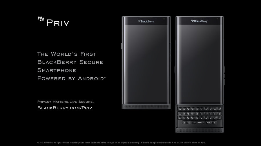 blackberry priv pre-ordering