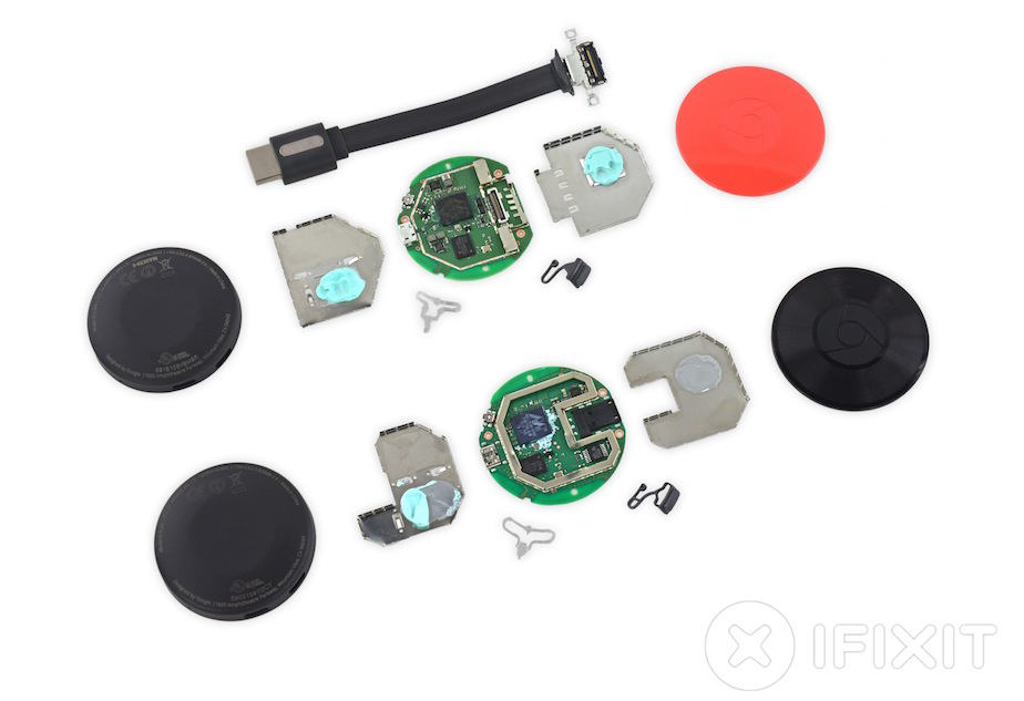 new google chromecast teardown