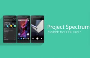OPPO just announced Project Spectrum, its new OS