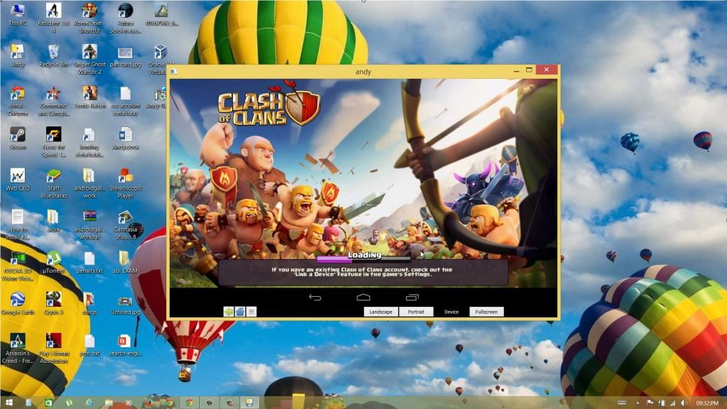 play clash of clans on pc using emulator
