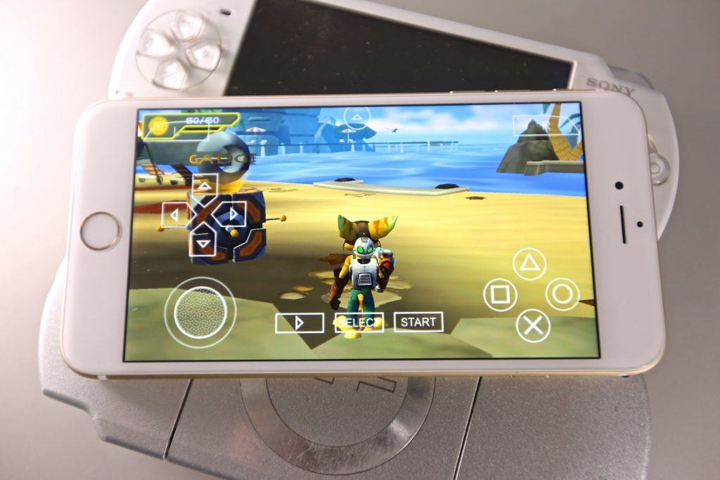 install PSP Emulators on iPhone