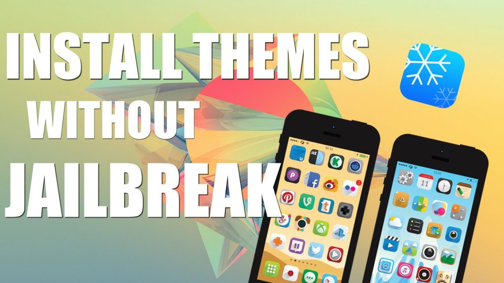 install change iphone themes