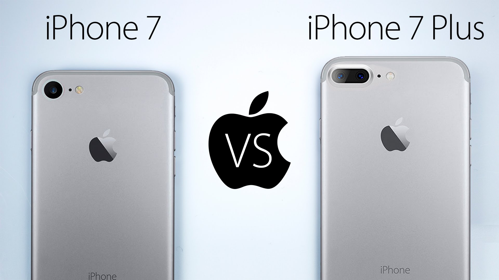 iphone 7 vs 7 plus vs 8