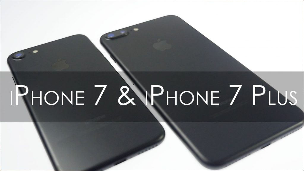 iPhone 7 vs iPhone 7 Plus