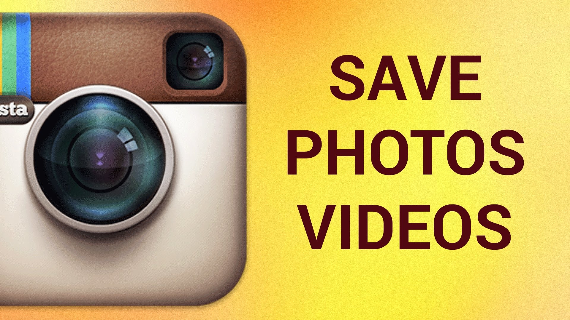 To photo instagram save how an