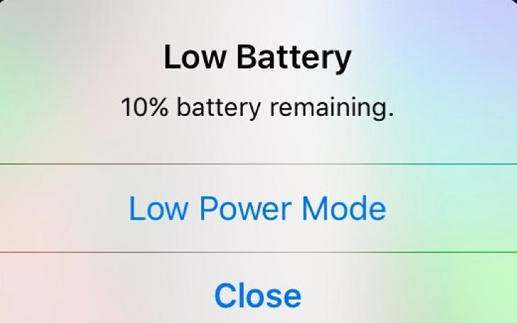 setup low power mode
