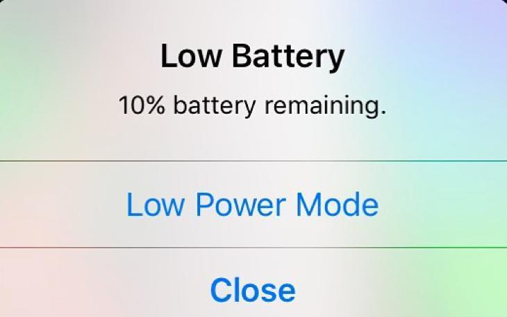setup low power mode
