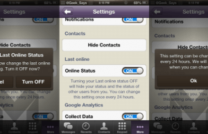 Toggle Viber Online Status Unlimited Times A Day On iPhone