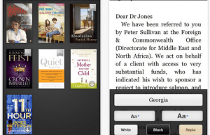 Amazon Kindle iOS App Can Now Convert Your Books Into AudioBooks