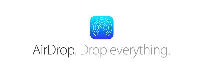 Air Drop iOS 7 download links