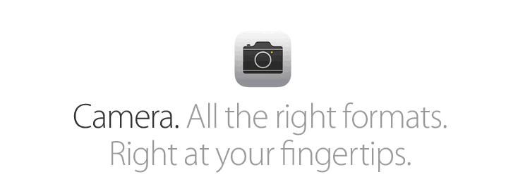 Camera iOS 7 Download Links