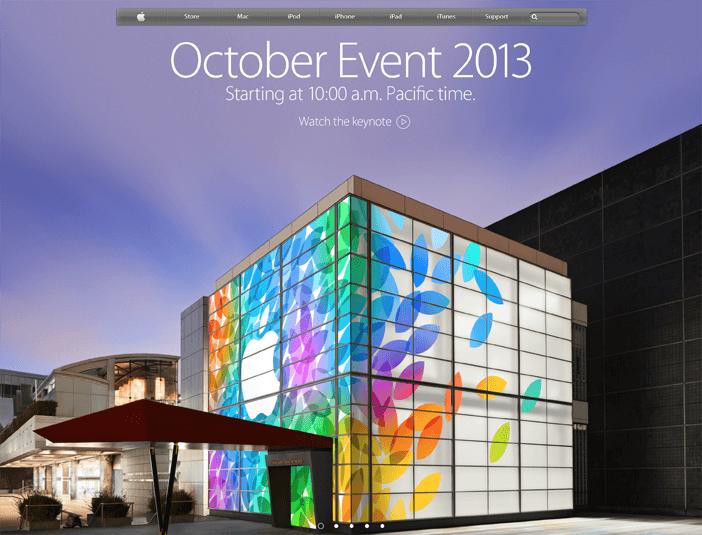Apple iPad 5 Launch event