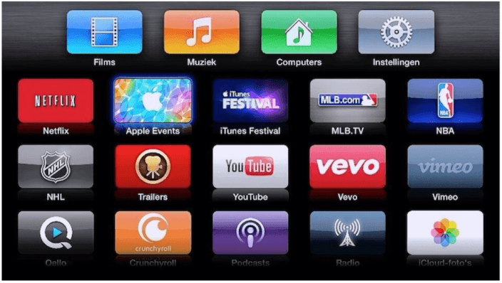 Apple TV iPad 5 Event live