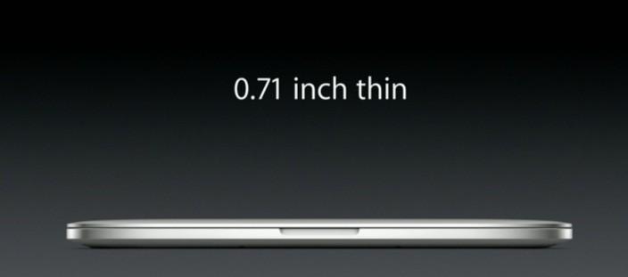 Retina MacBook Pro Thinner