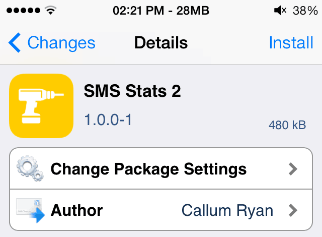 SMS Stats 2