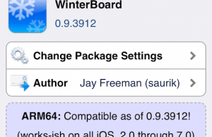 Winterboard for iOS 7 Is Now Compatible With iPhone 5s