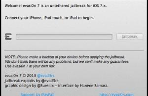 Evasi0n7 v1.0.3 Released With Retina iPad Boot Loop Fix
