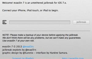 Evad3rs Released iOS 7.0.5 Jailbreak Tool (Download evasi0n7 v1.0.5)