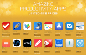 Apple offering massive discount on 20 popular productivity apps