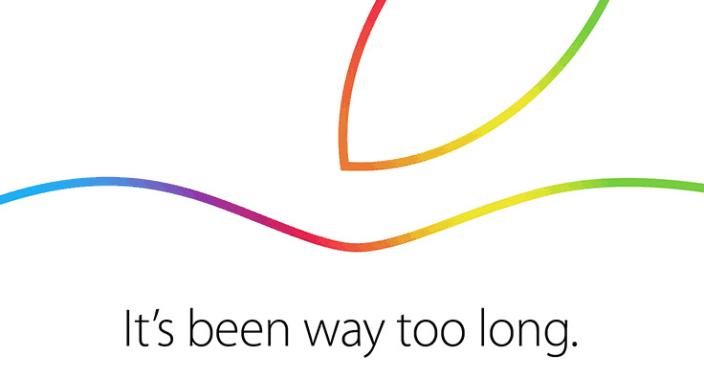 apple ipad event invite