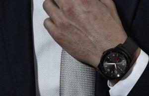 Yeah, it's round – LG G Watch R