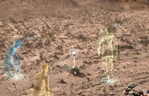 Microsoft Corporation is collaborating with NASA to create an OnSight system