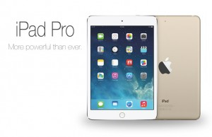 The iPad Pro, expected to make its debut this October