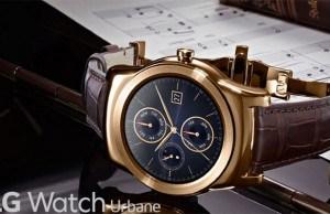 Meet the new 23-Karat Gold LG smartwatch!